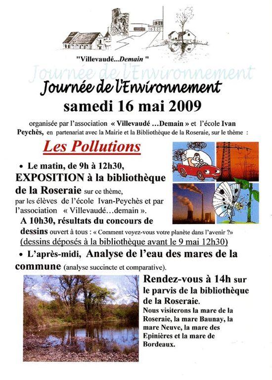 Journée de l'env les pollutions