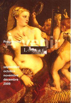 Programme Louvre 09