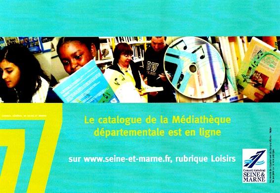 Médiathèque, prêt de livres