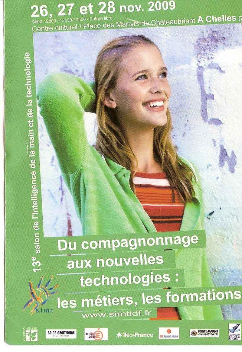Salon Intel 2009 affiche