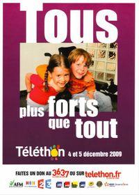 Téléthon affiche-2009