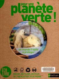 Pour une planète verte