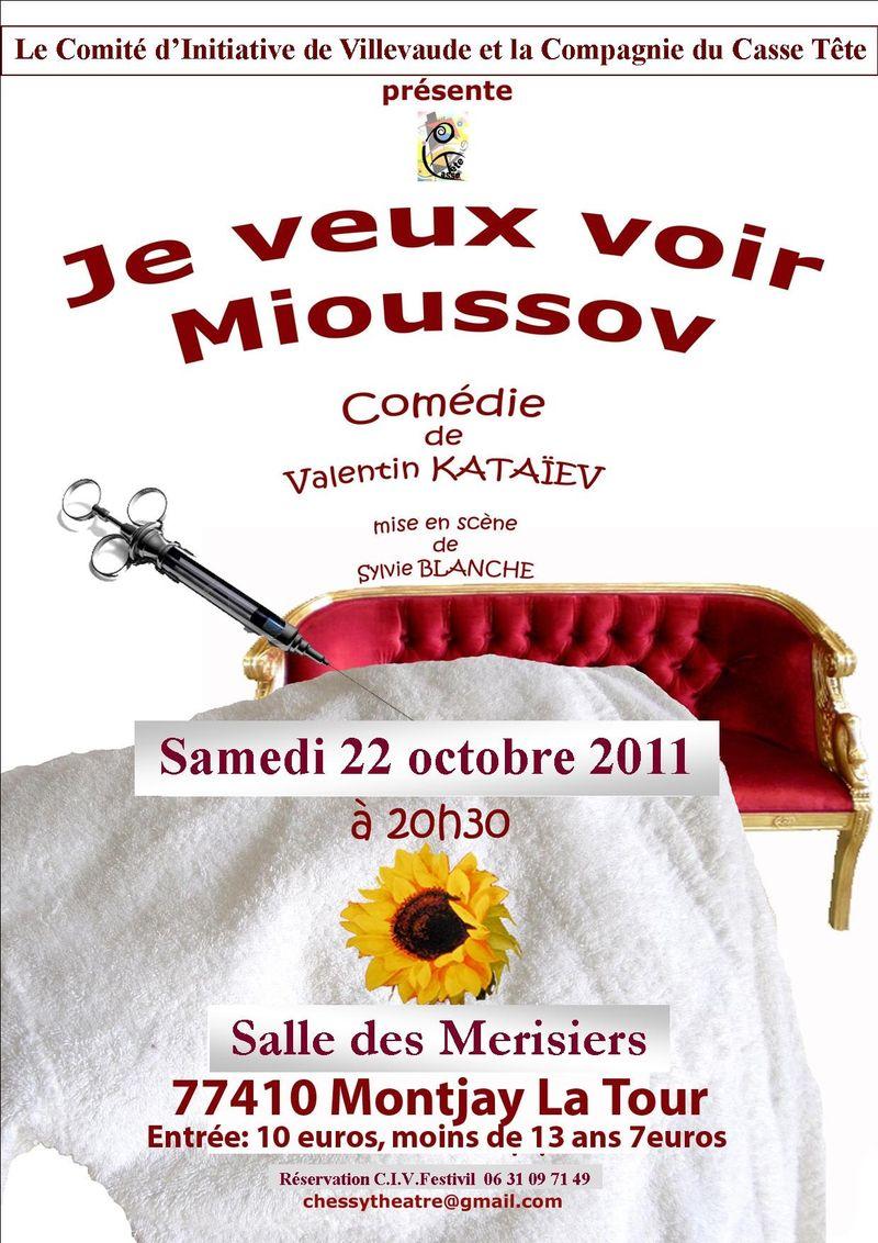 Affiche théâtre oct 2011