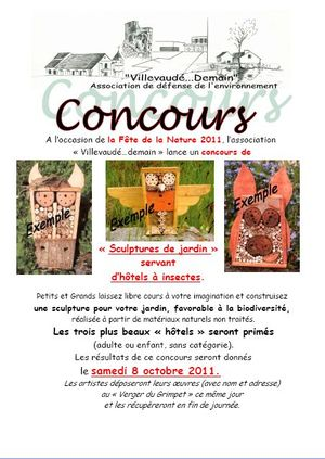 Concours Insectes