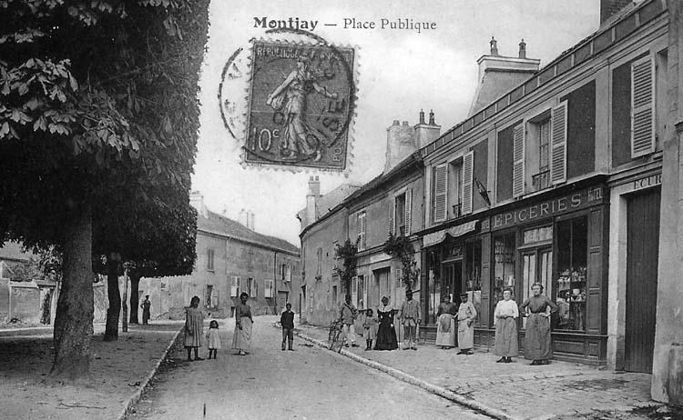 Carte postale de 1907