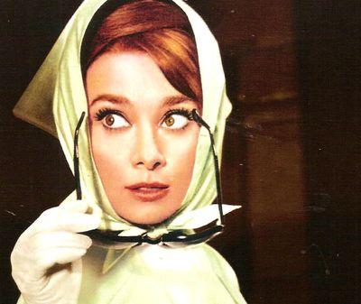 Audrey Hepburn- dans Charade -1963-