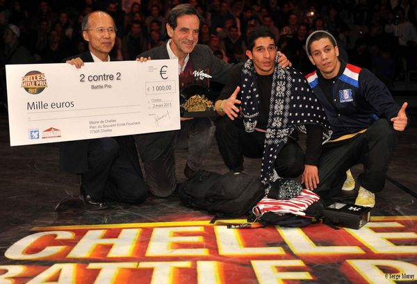 Prix 1000 euros pour B-Boy France