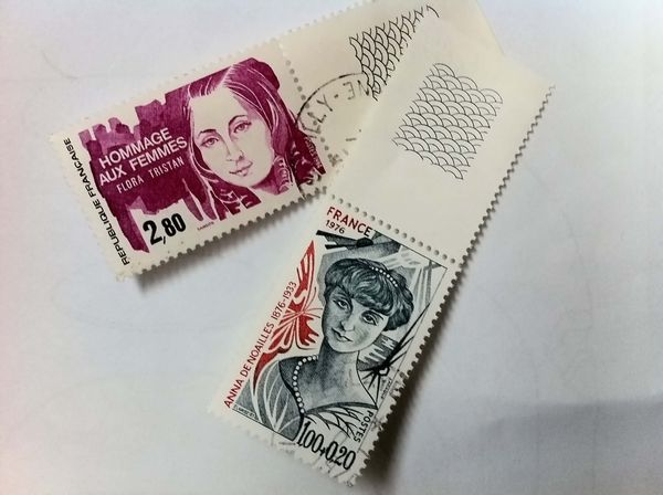 Timbres Hommage aux femmes