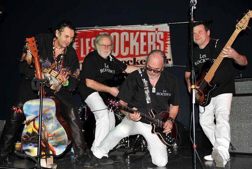 Le groupe Les Rocke'rs