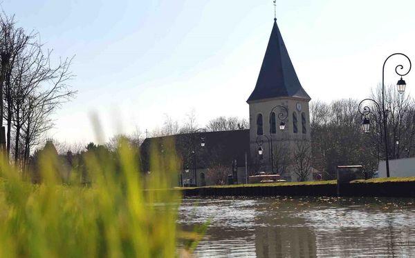 Canal ourcq à Claye