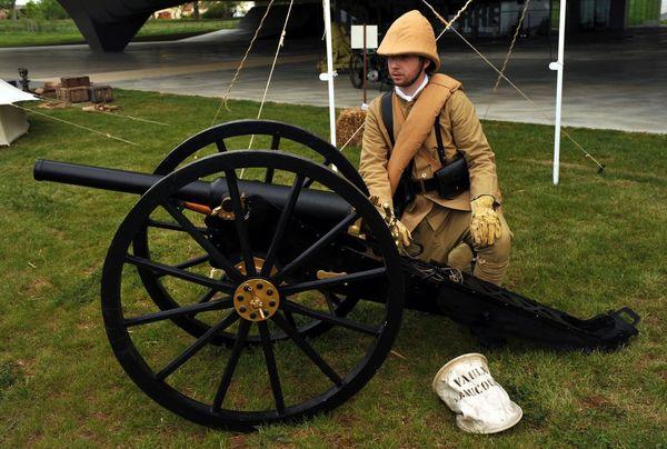 Artilleur du 4e régiment d'infanterie coloniale