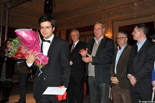 Le Roumain Florian Mitrea reçoit le premier prix du jury