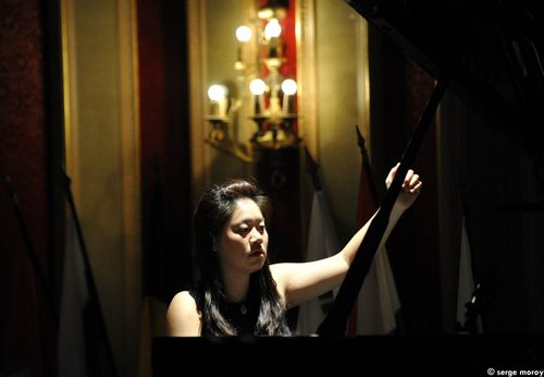 L'Américaine Fantee Jones terminant le carnaval opus 9 de Robert Schumann