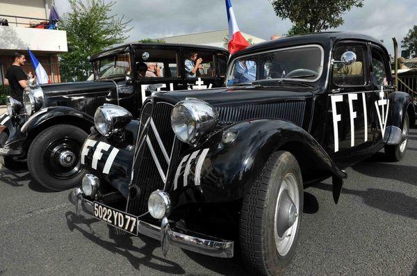 Traction et Citroën C4 des FFI