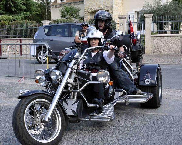 A le trike de Moumoune alias Lady Rider
