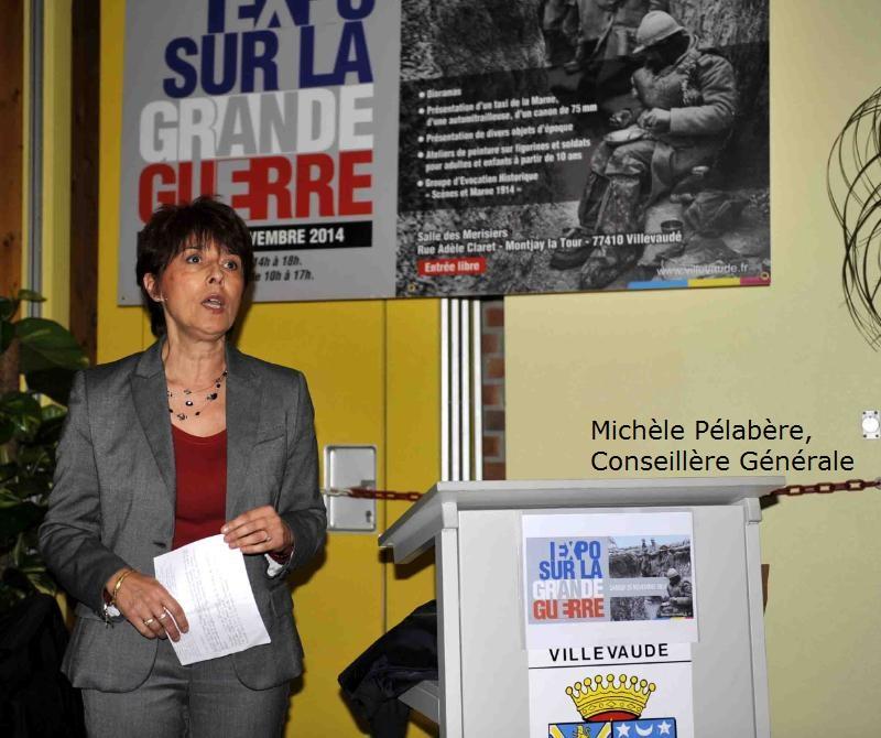 Allocution de Michèle Pélabère