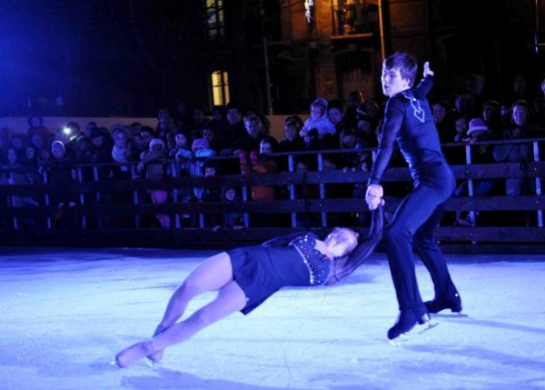 Spectacle patinage artistique
