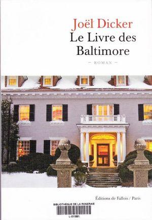 Le livre des baltimore 001
