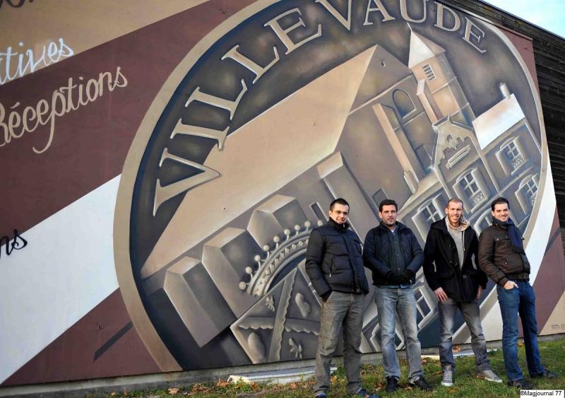 Villevaudé-fresque-école
