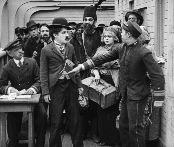 Charliechaplin the immigrant