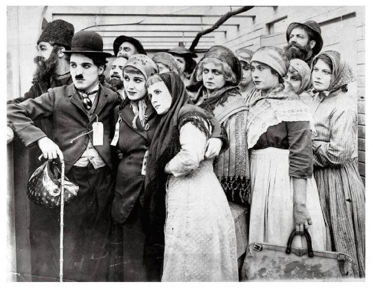 L'émigrant Charlot 1917