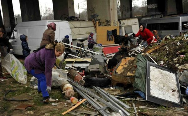 Camp rom nettoyage