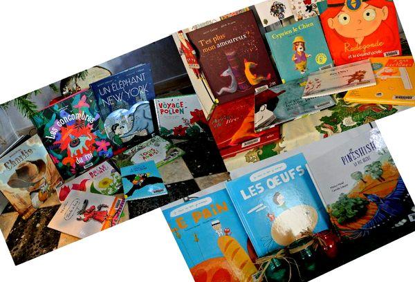 Livres enfants groupés déc 2015