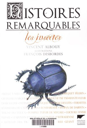 Hitoires remarquables insectes 001