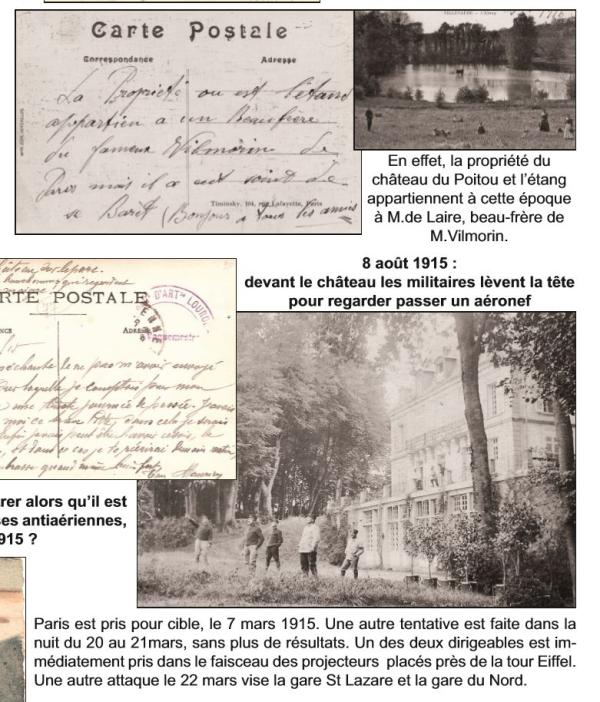 Château du Poitou 1915