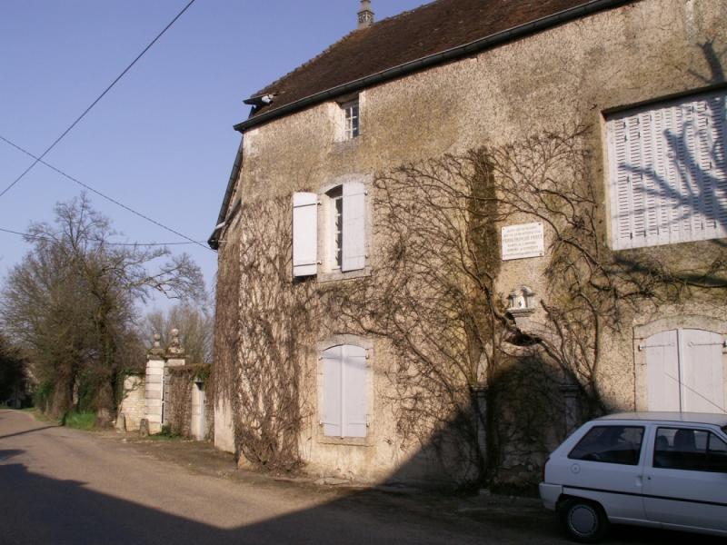 Maison natale de Percy à Montagney 70 - Copie