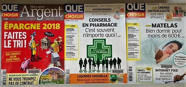 Quechoisir 2018