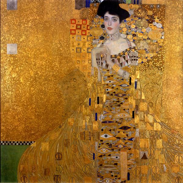 2 Gustav Klimt portrait d'Adèle Bloch-Bauer