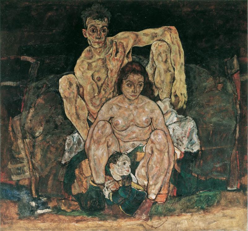 10 Mort de Schiele la famille