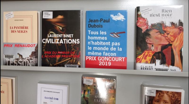 Prix littéraires 2019 - Copie