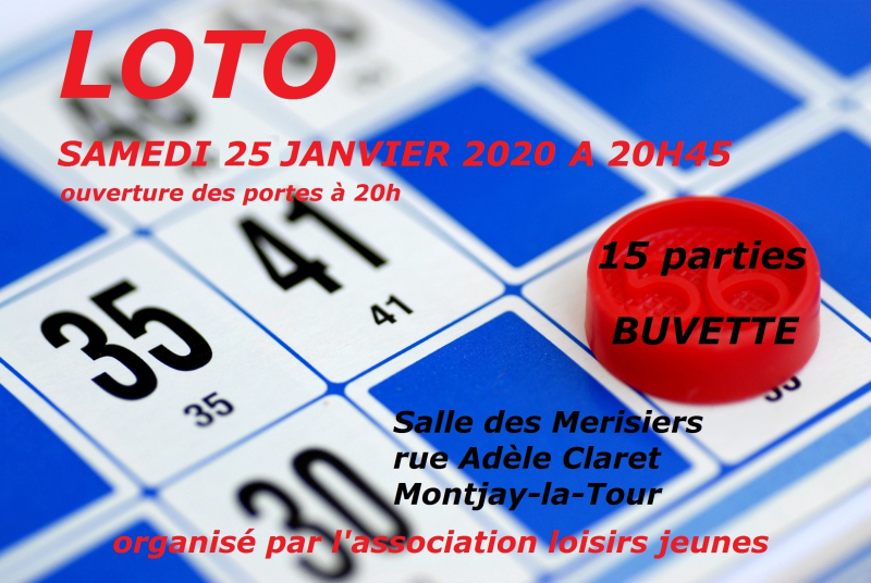 ALJ affiche loto forum 2020