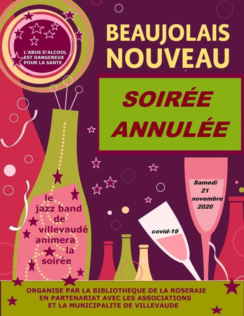 Annulation soirée beaujolais