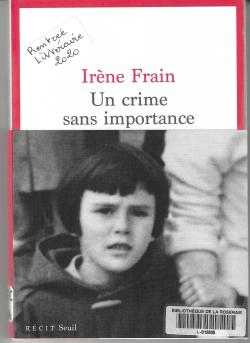 Un crime sans importance